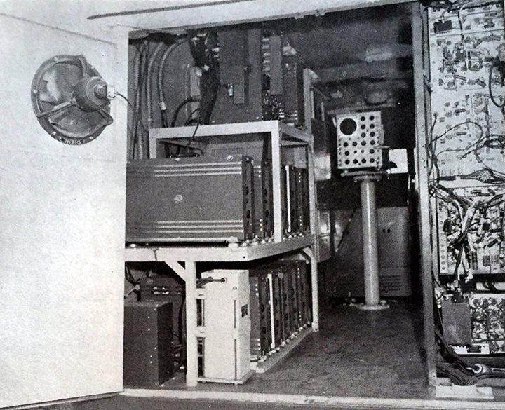 Experimental Broadcast Unit - Transmissions