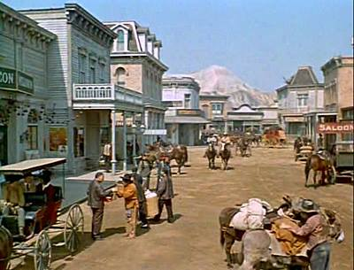 You Mean That S Not A Real Mountain There In Virginia City