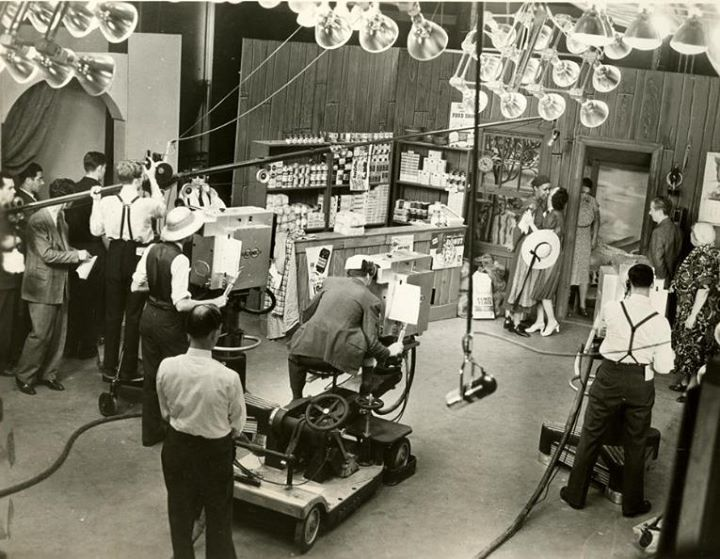 Fascinating NBC Studio 3H Photo 1939 Eyes Of A GenerationTelevisions Living History