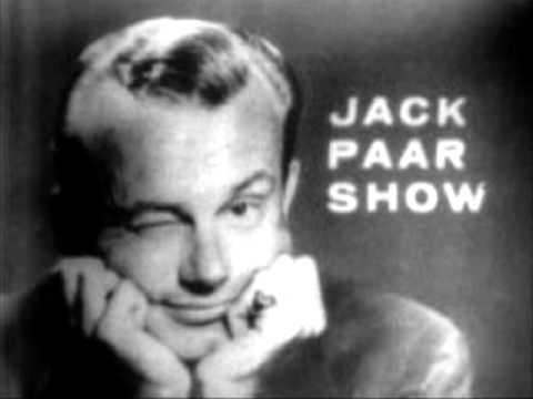 Jack paar walks off