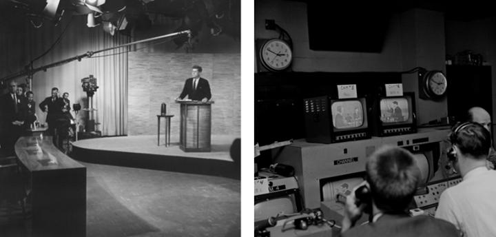 October 7 1960second Kennedy Nixon Debate Nbc Washington Eyes